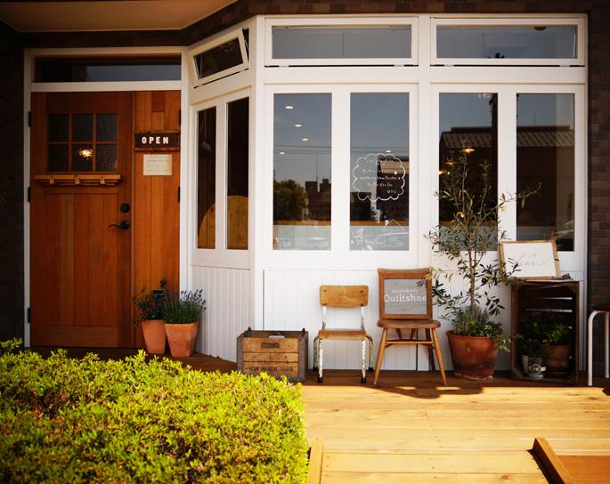 oyatsu&café Quiltshoe キルトシュー