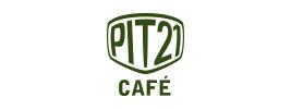 PIT21CAFE ロゴ