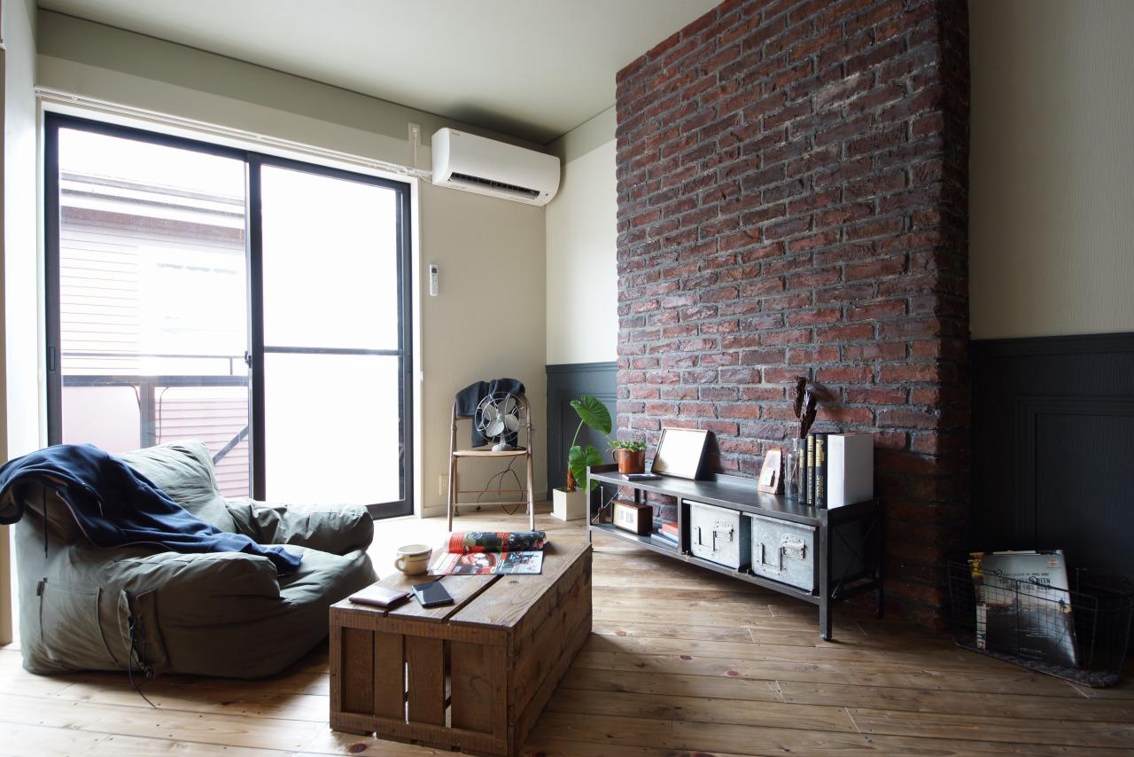 【アパートリノベーション】ブルックリンスタイル