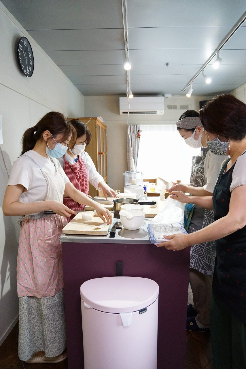 中古住宅をリノベーションしたお料理教室