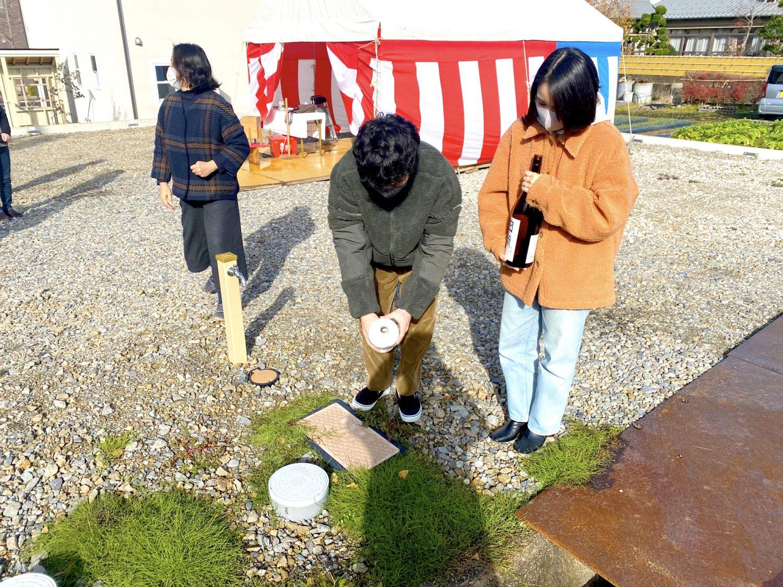 金沢市四十万で地鎮祭がありました