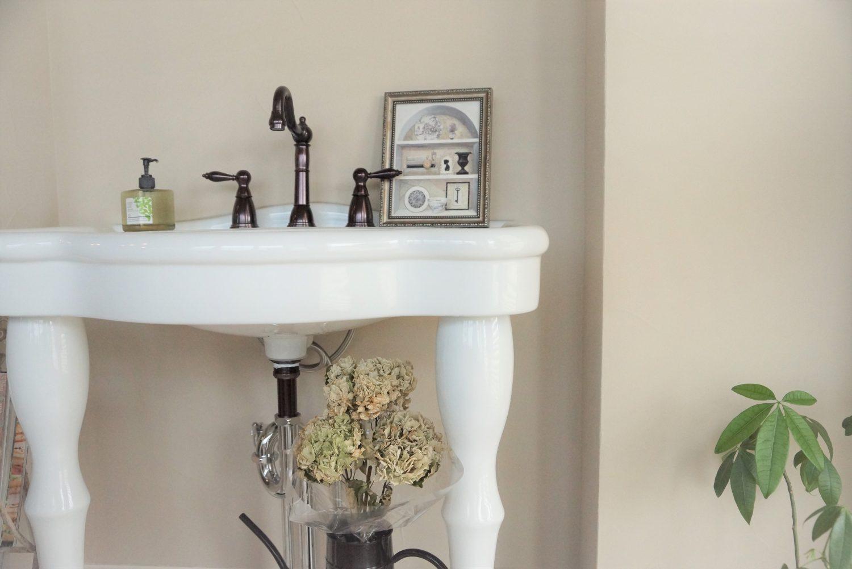 毎日使う洗面所 【施工例】【輸入住宅】